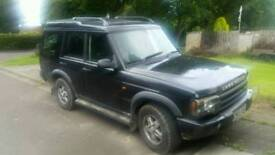 Land rover discovery 2 swop for van