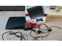 PS3 Playstation 3 Slim console (Boxed, good condition)