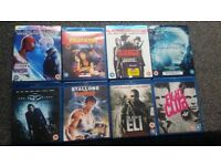 Job lot Blurays