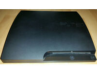 ps3 slim console 160gb faulty