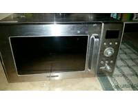 Samsung oven and microwave.