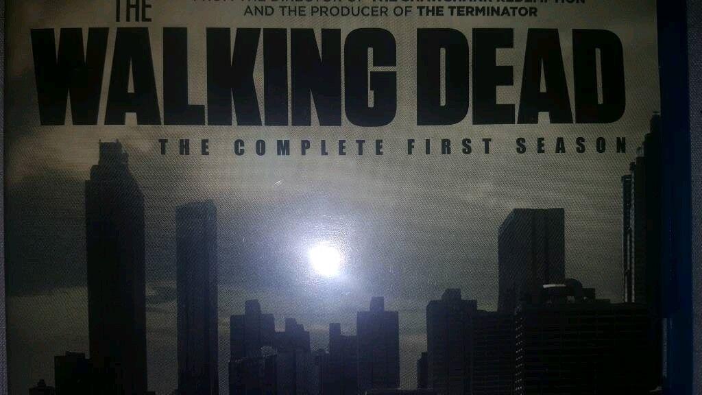 All the Walking dead seasons 1,2,3,4,5,6,7