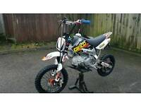BBR perimeter rep pitbike 1 off very rare race tuned 150 engine lots of new factory parts