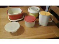 Vintage Tupperware Collection - Original 1980's items.
