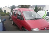 sold pending collection Fiat scudo 5 seater diesel van £400 ovno pos swap mot out last month