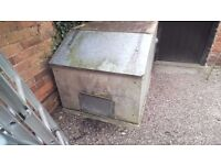 concrete coal bunker, free to good home, needs collecting,