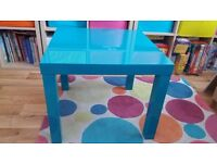 Blue IKEA Children's table - Very Good Condition