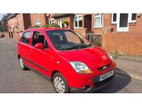 chevrolet matiz, drives and looks as new.