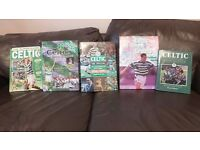 Collection of Celtic annuals, books and Celtic Views All in very good condition