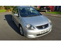 HONDA CIVIC 1.7 CDTI SE 2004 5 DOOR HATCH DIESEL