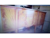 Extending claw feet table six chairs round drop leaf table also with claw feet