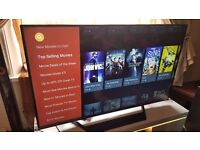 """LG 60"""" SUPER Smart ULTRA SLIM 4K UHD LED TV-60UF770V,built in Wifi,Freeview HD,GREAT Condition"""