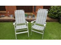 Camper van/ caravan light weight chairs