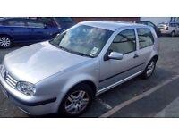 VW Golf 1.4 2003 Low miles £499