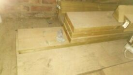 8 x 2 (195mm x 47mm) Timber Joists C24 Grade _ New and Unused