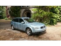 1 OWNER FROM NEW: PRISTINE LOW MILEAGE AUDI A4 SE 1.9 TDi AVANT in SOUGHT AFTER PEARL BLUE METALLIC