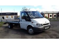 Ford transit Lwb recovery 2005 MOT july 16ft bed