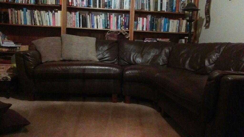 Brown Corner Sofa!!!!
