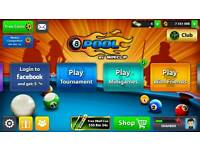 OFFEER! 8 Ball Pool 1 MILLION Coins (instant reply)