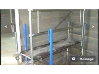 Stair safe scaffold towers