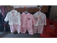 3 Brand new baby girl outfits