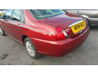 BEAUTIFUL ROVER 75 2004 REG,FULL LEATHER INTERIOR,GIVE AWAY CHEAP!