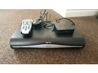 Sky+HD box with remote and wireless connector