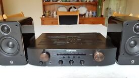 Marantz PM6005 Stereo Amplifier & QAcoustics 2010 speakers. What Hifi 5*