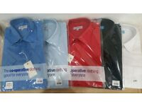 Wholesale Clearance Joblot: 862 x Men's Co-op Work Shirts SALE BARGAIN