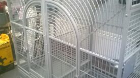 Large double parrot cage £300ono.