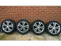 "17"" Alloys with tyres mercedes e class 2015"