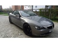 BMW 6 SERIES 3.0 630i Sport Auto 2dr, FULL BMW S/H, 84000 MILES, EXCELLENT CONDITION