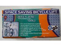 Bicycle lift - storage
