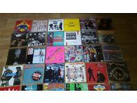 """100 x 7"""" hip hop rap vinyl singles public enemy mantronix beastie boys"""