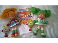 Rainbow Brite dolls and book