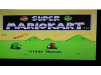 Nintendo SNES+Mario Karts