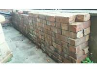 Reclaimed Victorian bricks ~200