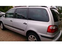 Ford Galaxy TDI 2002/ 7 seater People Carrier