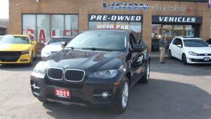 2011 BMW X6 xDrive35i/LEATHER/SUNROOF