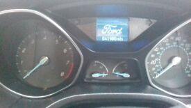 Excellent condition ford focus, low mileage, full SH, DAB radio
