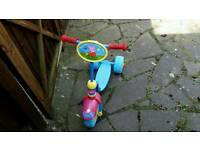 Peppa pigs scooter