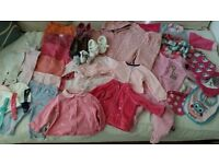 Baby Girl Clothes Bundle - 3-6 months and 6 months clothes