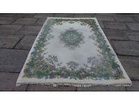 Shalimar Wool Pile Floral Patterned Rug