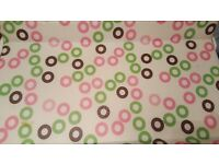 KiddiCouture Bath/Changing Table - circles (Reduced price And STILL AVAILABLE)