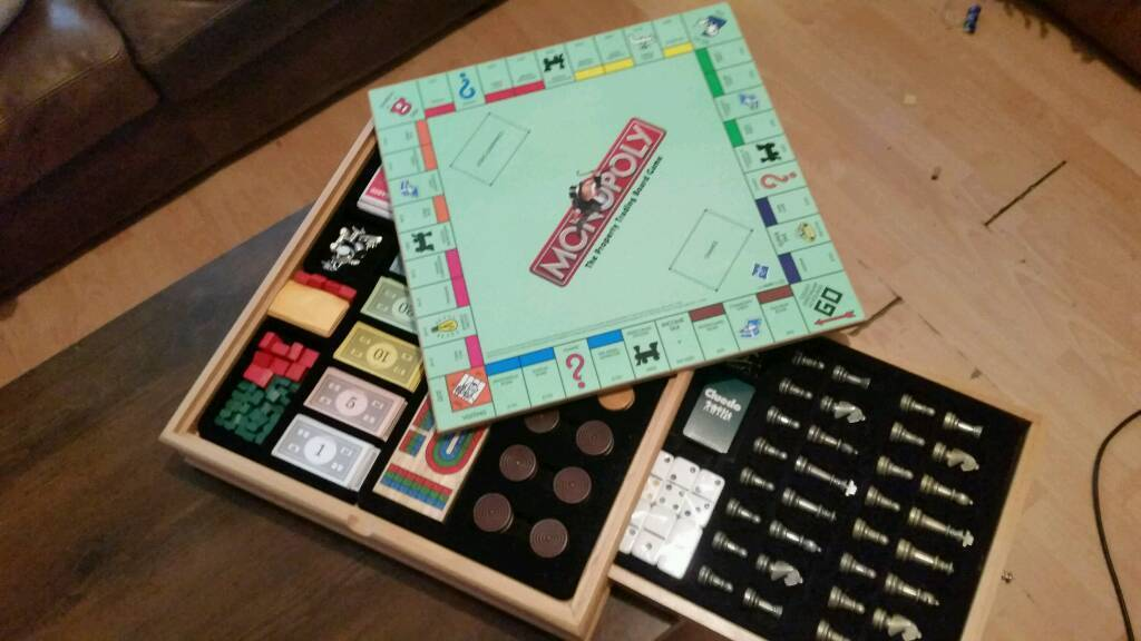 Hasbro Monopoly And Cluedo Wooden Cabinet Games Compendium Out Of Production In Southside Glasgow Gumtree