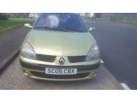 2005 clio 1.2 petrol full mot(px welcome)
