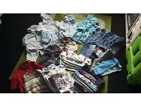 46 piece boys bundle 3-6 months