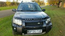 2005 LEFT HAND DRIVE FREELANDER TD4 CHAIN DRIVEN DIESEL ENGINE WITH MANUAL GEAR BOX