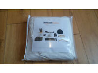 Super King size cream white fitted sheet