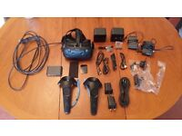 HTC Vive - Mint Condition Barely Used £649 (RRP £759) Inc all accessories and external packaging